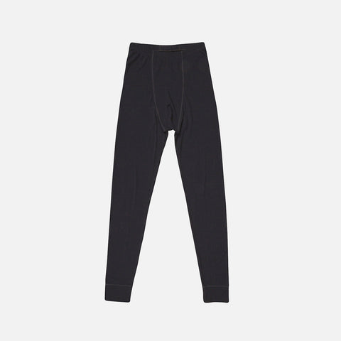 Men's Merino Wool Long Johns - Black