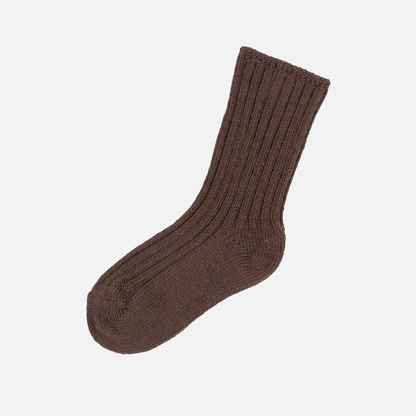 Adult Merino Wool Socks - Cocoa