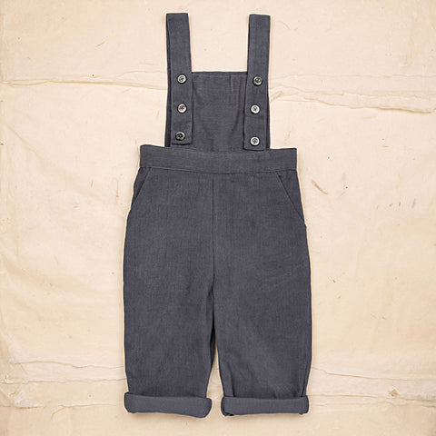 Cotton Corduroy Alex Trousers - Blue