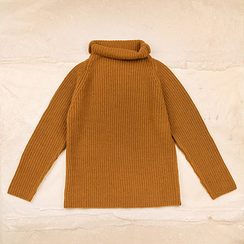 Wool Gabin Sweater - Sienna