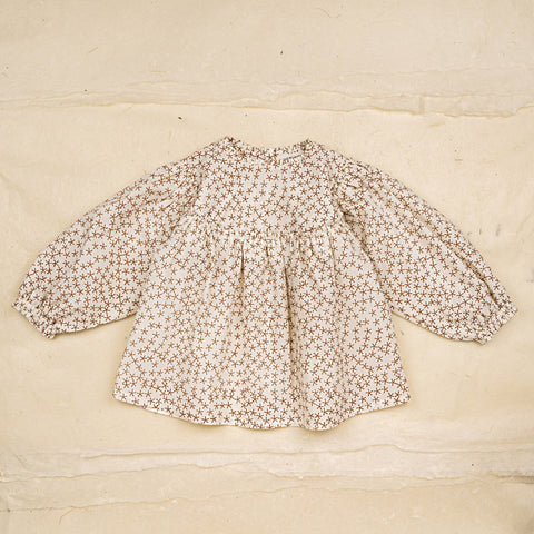 Cotton Hand Printed Jeanne Baby Blouse