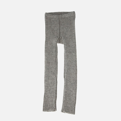 Alpaca Rib Leggings - Dove