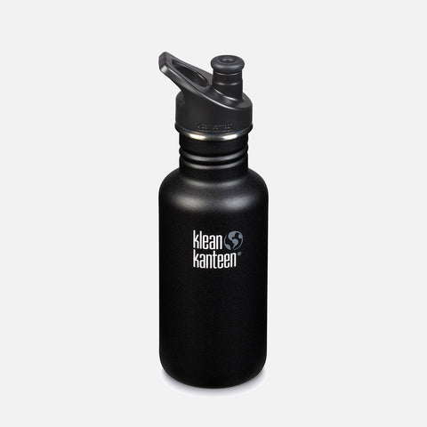 Stainless Steel Classic Water Bottle - 532ml - Shale Black