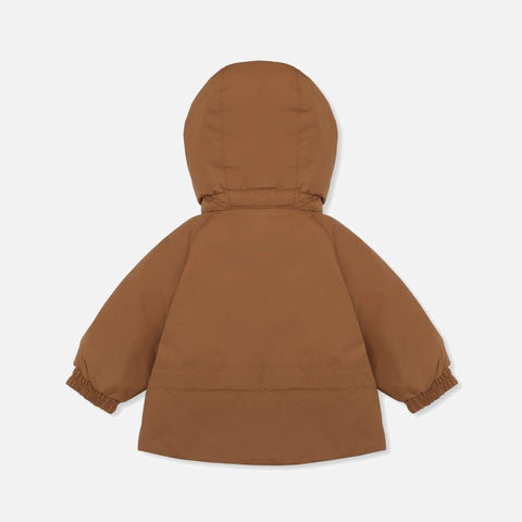 Insulated Waterproof Mismou Jacket - Caramel
