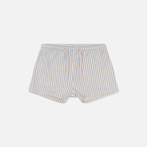 Unisex Aster UV Swim Shorts - Light Blue Stripe