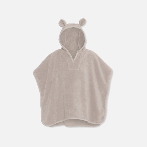 Organic Cotton Terry Kid's Poncho - Blush