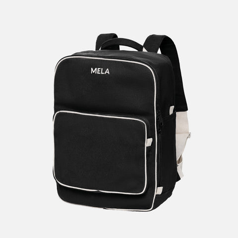Organic Cotton Mela II Backpack - Black