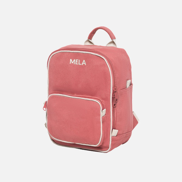 Organic Cotton Mela II Mini Backpack - Vintage Red