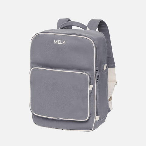 Organic Cotton Mela II Backpack - Grey