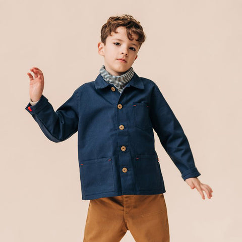 Cotton Foundry Jacket - Light Navy