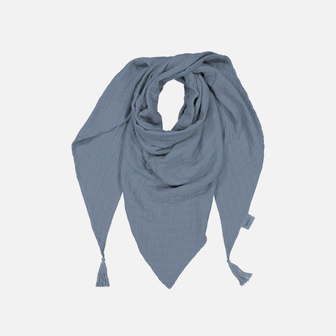 Adult's Cotton Misha Scarf with tassels - Cool