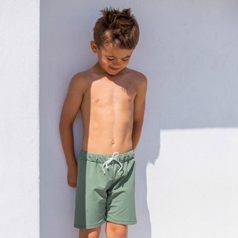 Alex Short Swim Shorts - Olive