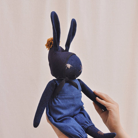 Handmade Large Cotton Rabbit - Charlie