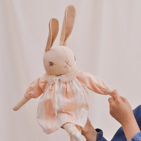 Handmade Large Cotton Rabbit - Sasha