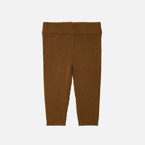 Merino Wool Baby Leggings - Sienna