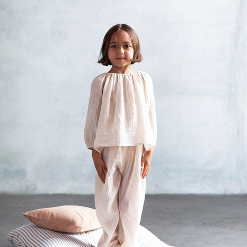 Cotton Mi Casa Tunic - Milk