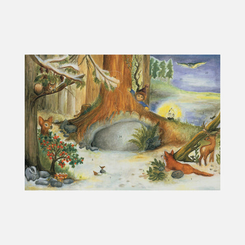 Advent Calendar - The Tree in the Wood - Medium