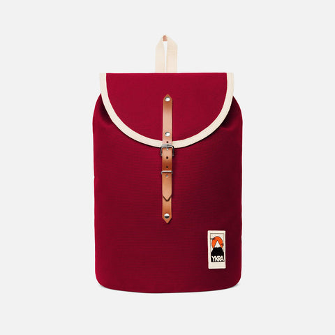 Cotton Canvas Sailor Backpack - Bordeaux