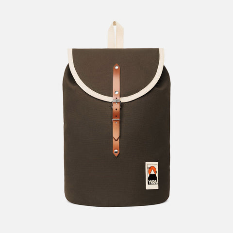 Cotton Canvas Sailor Backpack - Khaki