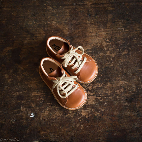 First Toddler Boots - Cognac - Normal/Narrow