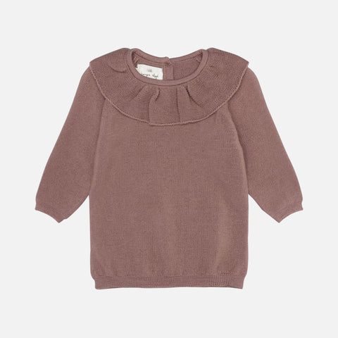 Merino Wool Fiol Collar Sweater - Ruben Rose