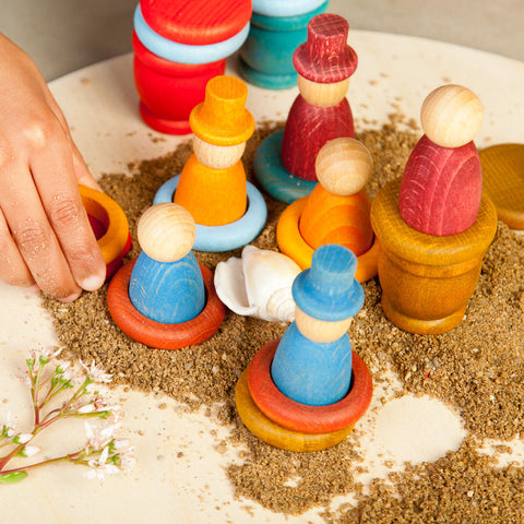 Wooden Nins Playset - Summer