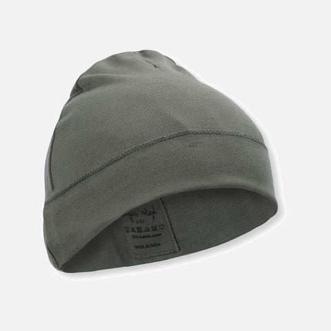 Organic Cotton Ebi Beanie - Ivy Green