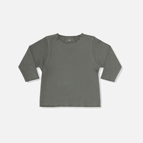 Organic Cotton Ebi Jersey Top - Ivy Green