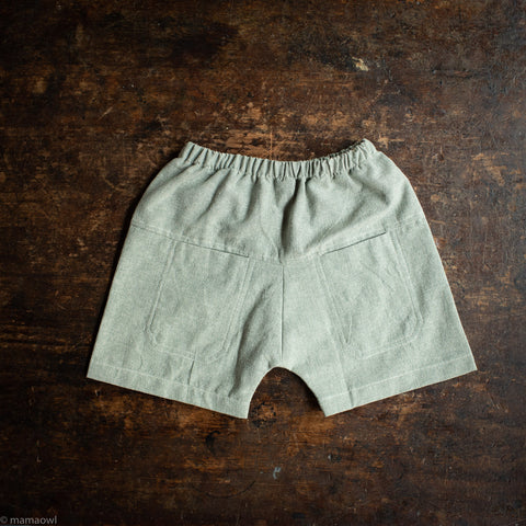 Cotton Eole Shorts - Teal