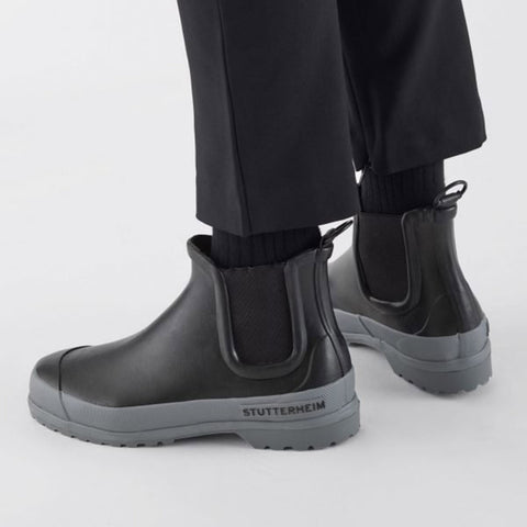 Adult's Rainwalker Boots - Black/Grey
