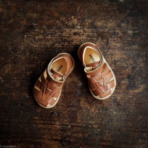 Fisherman Toddler Sandal - Tan