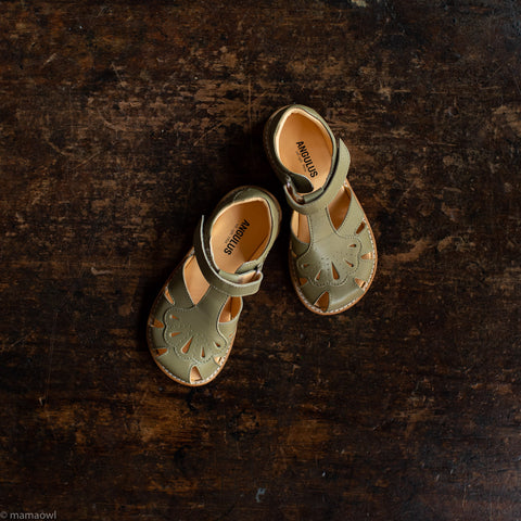Kids Gingko Sandal - Light Khaki