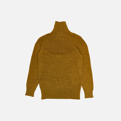 Alpaca/Merino Wool Sailor Sweater - Dijon