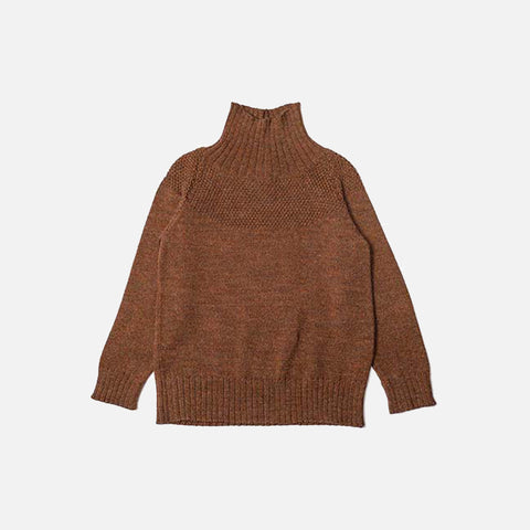 Alpaca/Merino Wool Sailor Sweater - Ginger