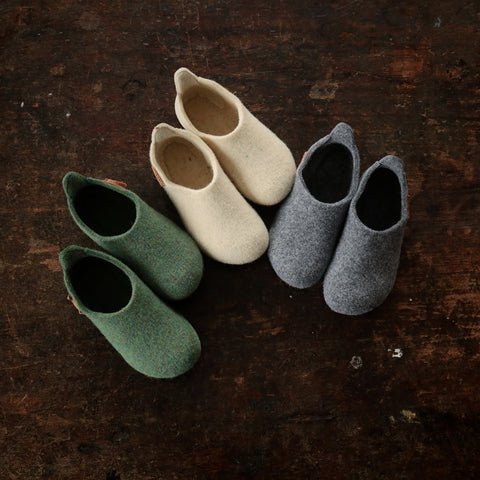 ef9b01af3183 ... Wool Slipper Shoe - Creme - Size 25-36 (UK 7.5-3.5)