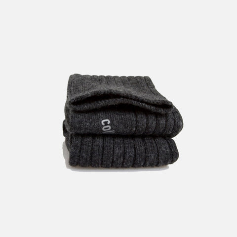 Adult's Merino Wool/Cashmere Socks - Anthracite