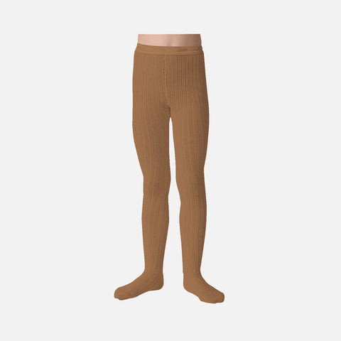 Babies & Kids Rib Tights - Caramel