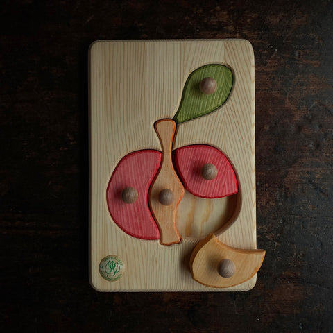 Wooden Puzzle - Apple