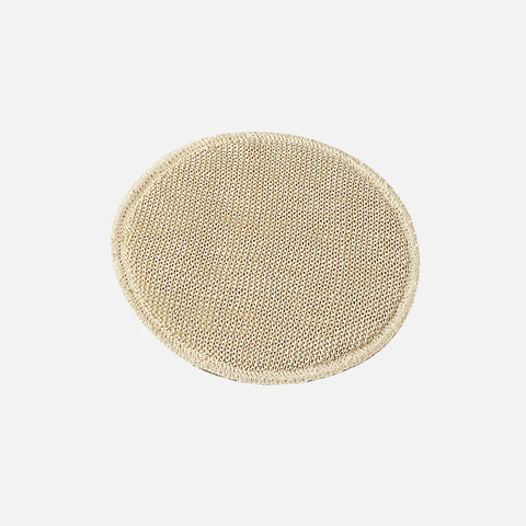 Organic Merino Wool/Silk Breast Pads - Natural