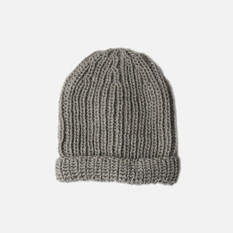 Adult's Alpaca Michel Hat - Dove