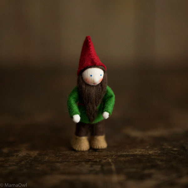Handmade Small Pocket Gnomes - Red