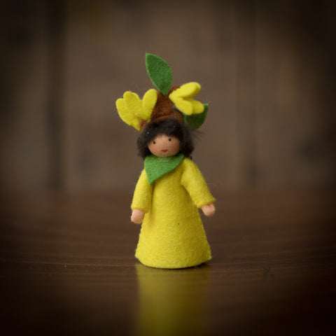 Handmade Small Wool Fairy - Laburnum