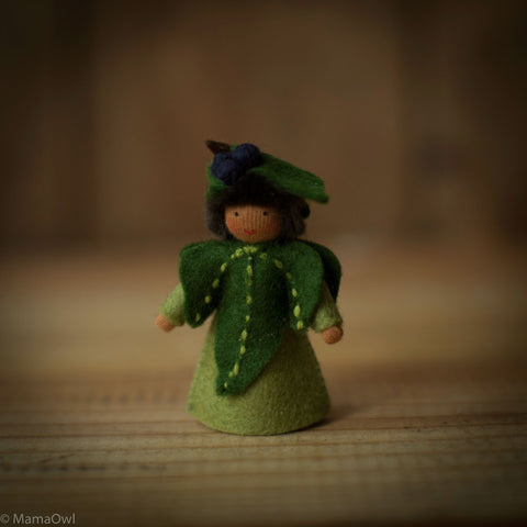 Handmade Small Wool Fairy - Ivy