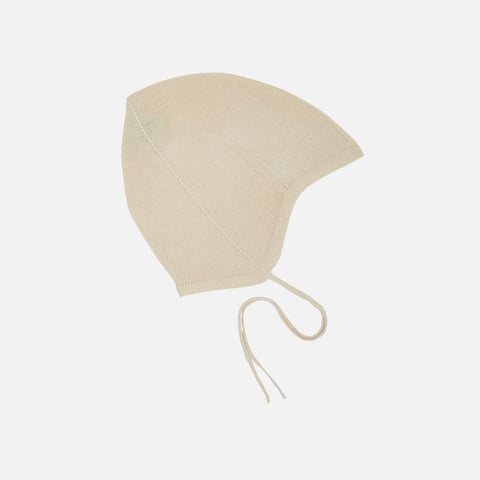Organic Cotton Baby Hat - Ecru