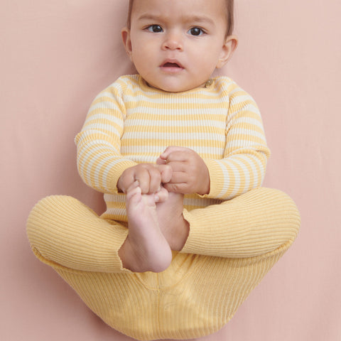 Organic Cotton Baby Leggings - Desert Sun
