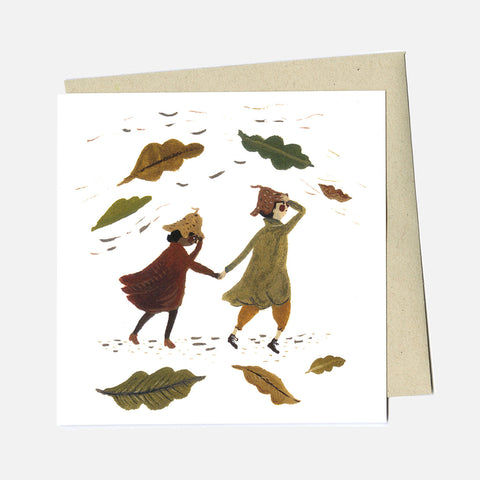 Greeting Card - A Change In The Weather