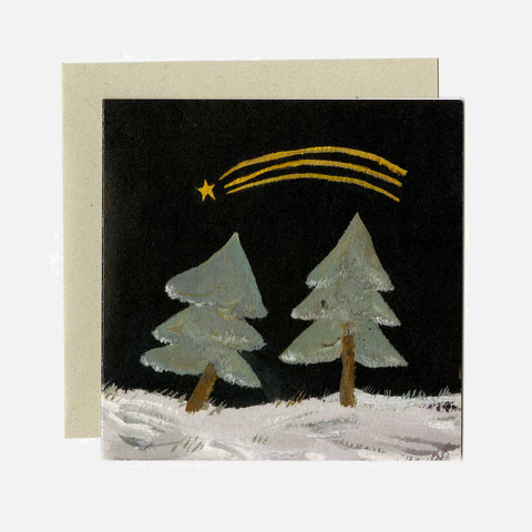 Greeting Card - Shooting Star