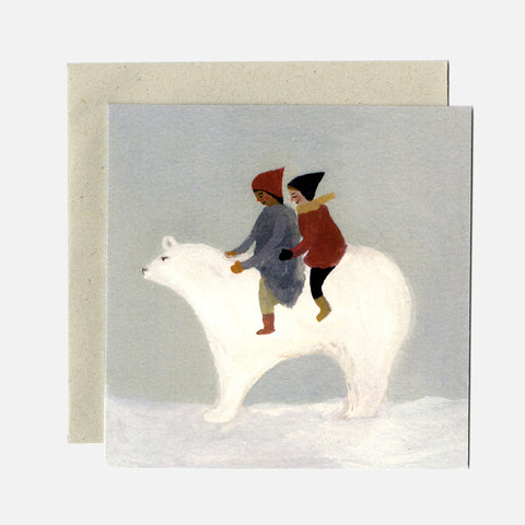 Greeting Card - Snow Bear