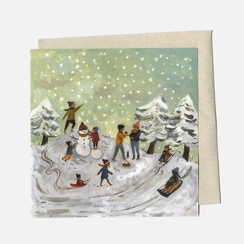 Greeting Card - Snow Day