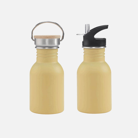 Kids Stainless Steel Water Bottle - Mustard